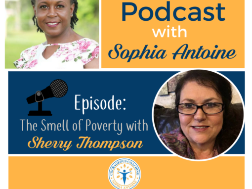 Episode 004 – The Smell of Poverty with Sherry Thompson